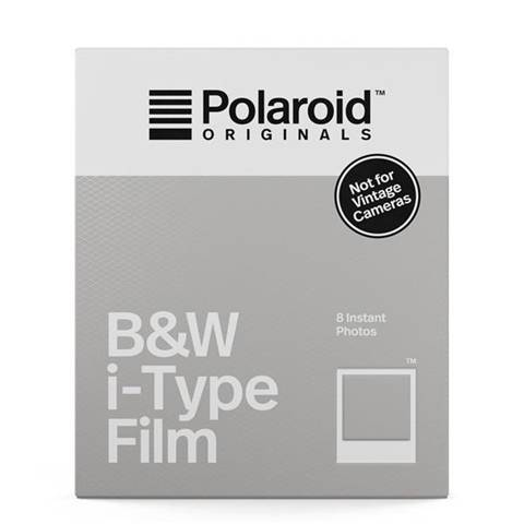 B&W Polaroid B&W; i-Type Film pellicola per istantanee 88 x 107 mm 8 pezzo(i)