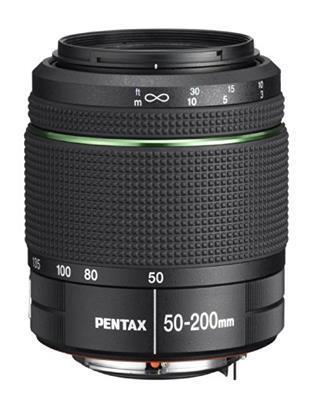 Pentax smc DA 50-200mm f/4-5.6 ED WR Nero