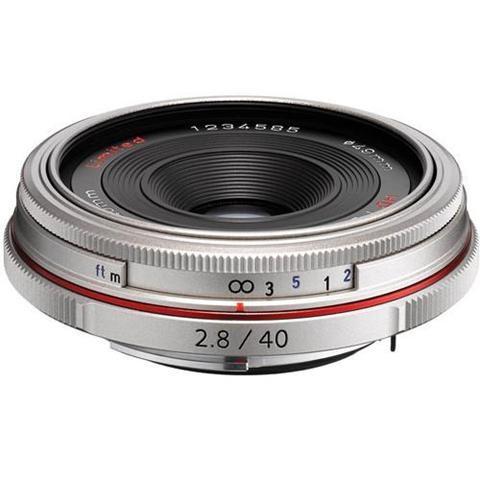 Pentax HD DA 40MM F2.8 LIMITED SLR Argento