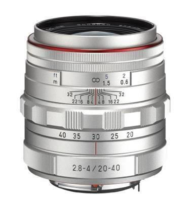 Pentax HD DA 20-40mm F2.8-4 ED Limited DC WR SLR Argento