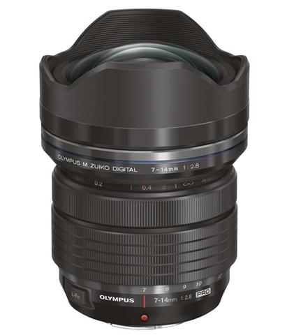 Olympus M.ZUIKO ED 7-14mm 1:2.8 PRO MILC/SRL Obiettivo super ampio Nero