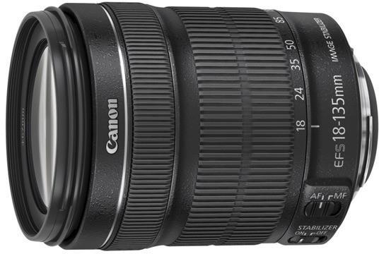 Canon EF-S 18-135mm f/3.5-5.6 IS STM SLR Obiettivi standard Nero