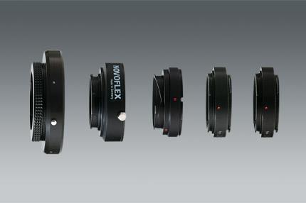 Leica Novoflex Adapter Leica R Obj. an Leica M Geh adattatore per lente fotografica