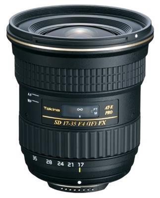 Tokina Obiettivo Tokina Lens At-X 17-35 F4.0 Pro-Fx (If) Nikon Tok 1735N Gar. Rinowa 4 Anni