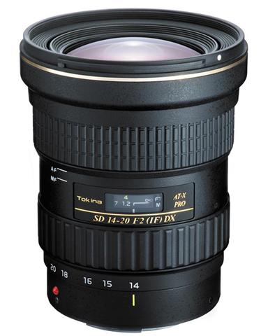 Tokina AT-X 14-20 F2 PRO DX SLR Obiettivo con zoom grandangolare