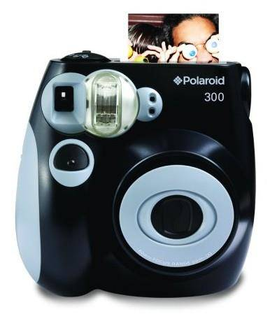 Fotocamera Polaroid PIC-300 Instant Film Camera Nero