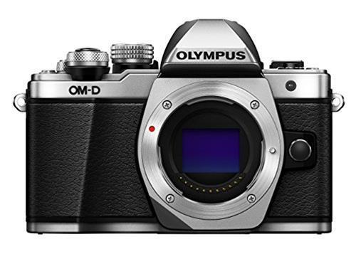 Olympus Fotocamera mirrorless Olympus Om D E M10 Mark II Solo Corpo Silver