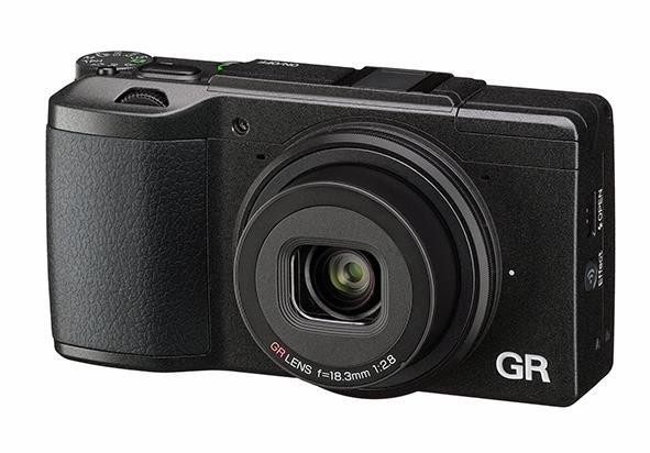 Ricoh GR II Fotocamera compatta 16.2MP CMOS 4928 x 3264Pixel Nero