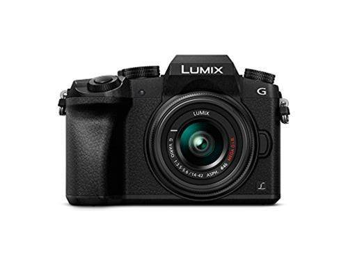 Panasonic Fotocamera mirrorless Panasonic G7 con 14 42mm F3.5 5.6 ASPH