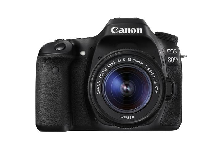 Canon EOS 80D + EF-S 18-55mm f/3.5-5.6 IS STM Kit fotocamere SLR 24,2 MP CMOS 6000 x 4000 Pixel Nero