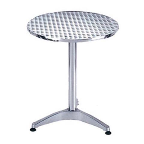 Tavolo In Alluminio Club Acciaio Inox Per Arredo Esterno Casa Giardino Cm60X70H