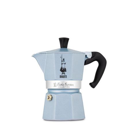 Bialetti 0006963 caffettiera manuale Moka 0,13 L Blu