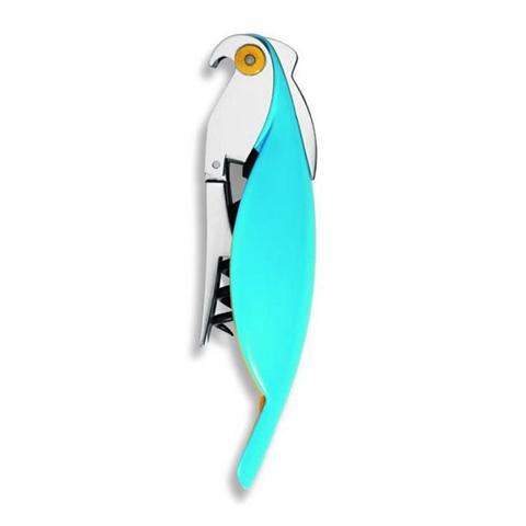 Alessi Cavatappi Parrot Azzurro