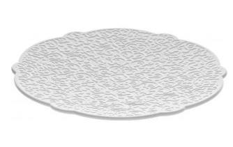 Alessi MW01/77 piatto piano Rotondo Bianco 4 pezzo(i)