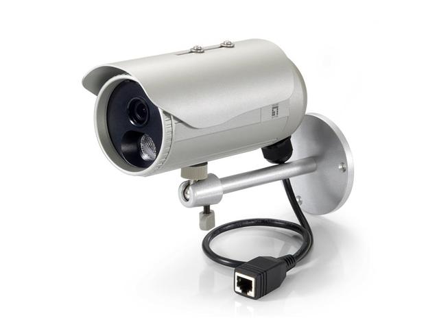 LevelOne FCS-5053 Telecamera di sicurezza IP Esterno Capocorda Argento 2048 x 1536 Pixel