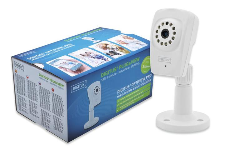 Digitus DN-16046 telecamera di sorveglianza Telecamera di sicurezza IP Interno Cubo Scrivania 1280 x 720 Pixel
