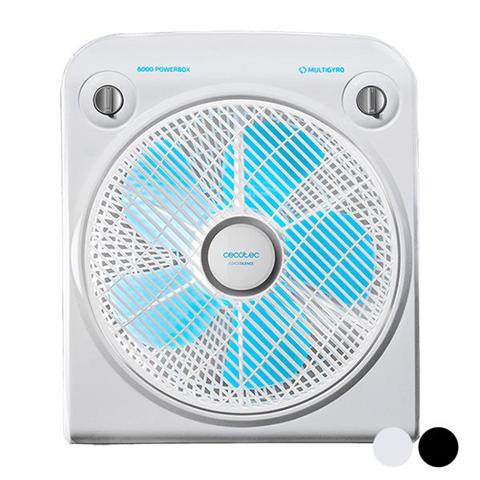Ventilatore Da Terra Cecotec Forcesilence Powerbox 50W 30 Cm Bianco