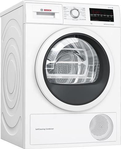Bosch Serie 6 WTW85447IT asciugatrice Libera installazione Caricamento frontale Bianco 7 kg A++