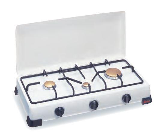 Ardes 9S03PM piano cottura Da tavolo Gas Bianco