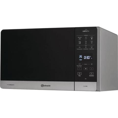 Bauknecht MW 49 SL forno a microonde Countertop (placement) Solo microonde 25 L 800 W Nero, Argento