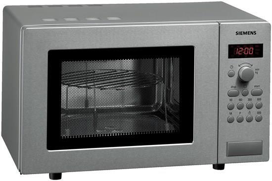 Siemens HF15G541 forno a microonde Piano di lavoro 17 L 800 W Acciaio inossidabile