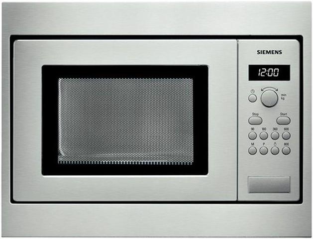 Siemens HF15M552 forno a microonde Incasso 18 L 800 W Acciaio inossidabile