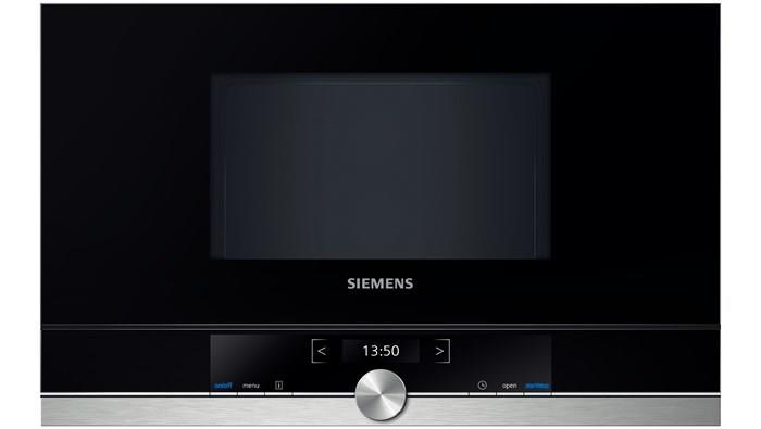 Siemens BF634LGS1 forno a microonde Incasso 21 L 900 W Nero, Acciaio inossidabile