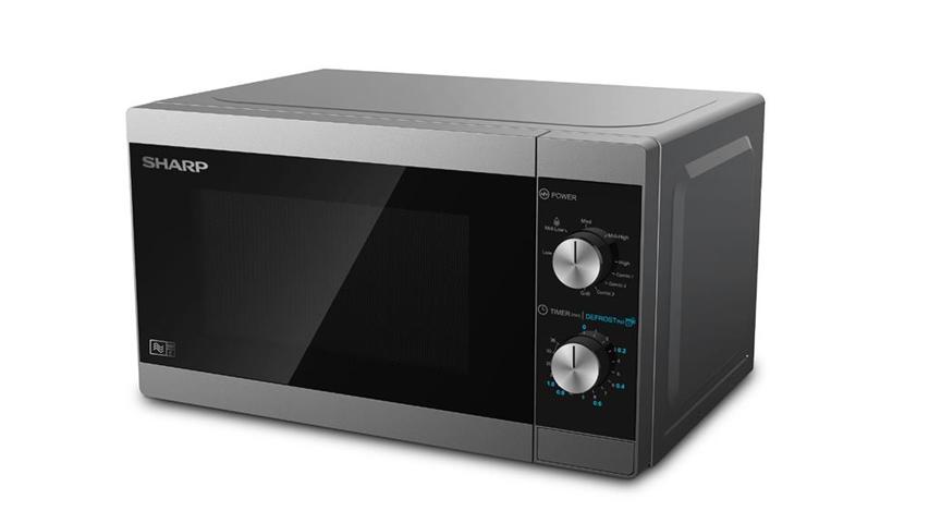 Sharp Forno a microonde grill YC-MG01E-S 20L 5 livelli di potenza