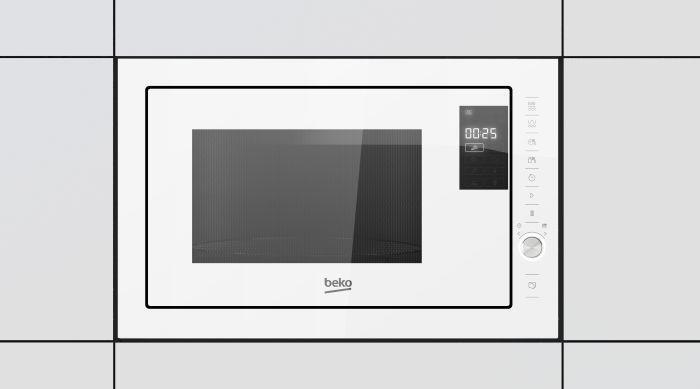Beko MGB25333WG forno a microonde Incasso Microonde combinato 25 L 900 W Bianco