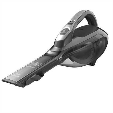 Black & Decker DVA320J aspiratore portatile Senza sacchetto Nero, Grigio