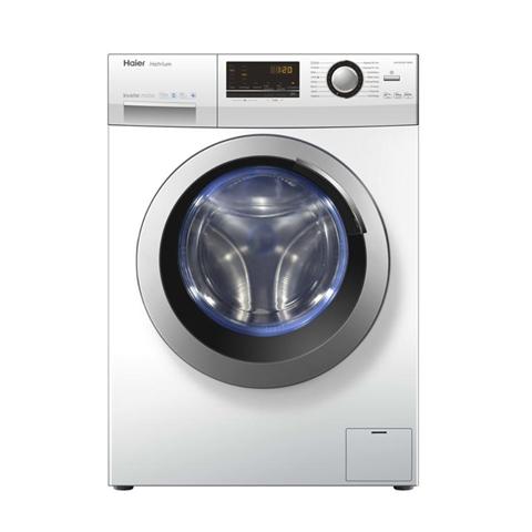 HAIER HW100-BP14636 lavatrice Libera installazione Caricamento frontale Bianco 10 kg 1400 Giri/min A+++-40%