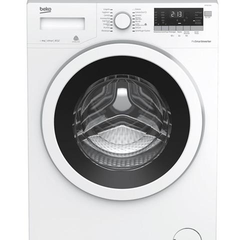 Beko WTY81233WI lavatrice Libera installazione Caricamento frontale Bianco 8 kg 1200 Giri/min A+++-10%