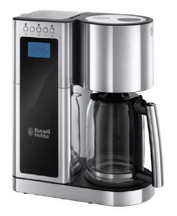 Russell Hobbs Elegance Countertop (placement) Macchina da caffè con filtro 1,25 L Automatica