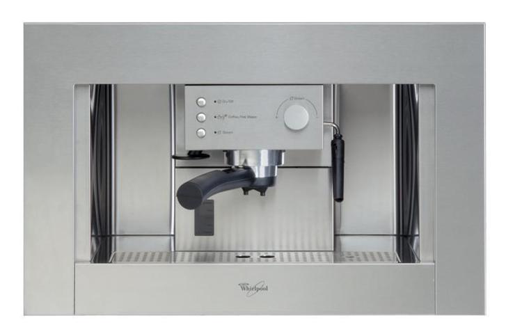 Whirlpool ACE 010 IX macchina per caffè Built-in (placement) Macchina per espresso 1,5 L Semi-automatica