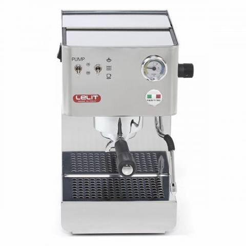 Lelit PL41PLUS macchina per caffè Libera installazione Macchina per espresso Acciaio inossidabile 2,7 L 2 tazze Semi-automatica