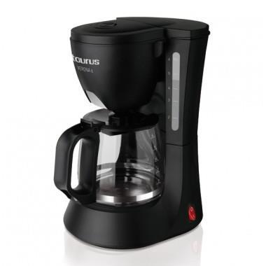Taurus Verona 6 Libera installazione Macchina da caffè con filtro Nero 6 tazze Semi-automatica