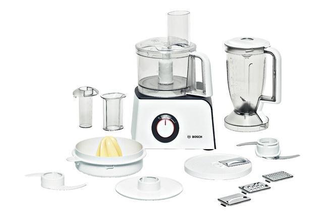 Bosch MCM4100 robot da cucina Antracite, Bianco 800 W