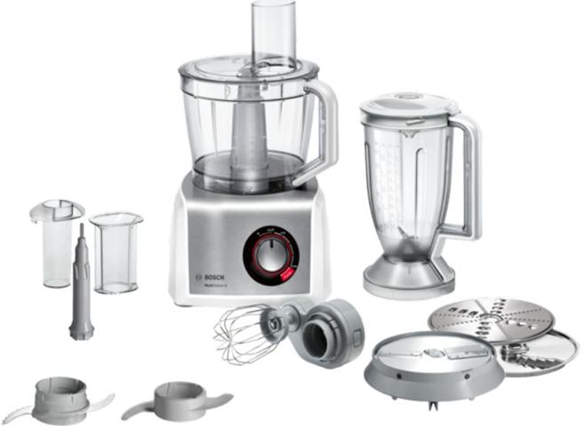 Bosch MC812S814 robot da cucina 3,9 L Acciaio inossidabile, Bianco 1250 W
