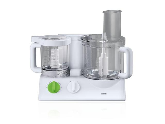 Braun FX 3030 robot da cucina 2 L Verde, Bianco 600 W