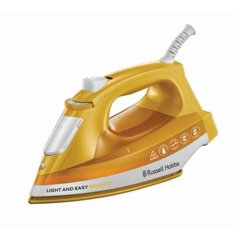 Russell Hobbs 24800-56 ferro da stiro Ferro a vapore Arancione, Bianco 2400 W