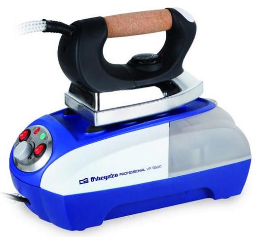 Orbegozo VP 9500 ferro da stiro a caldaia 800 W 0,8 L Alluminio Nero, Blu, Metallico, Bianco