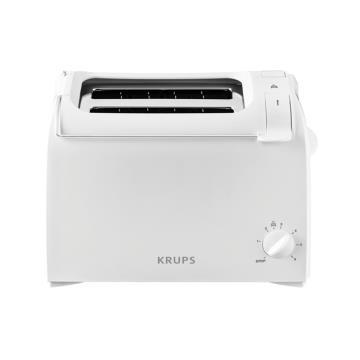 Krups ProAroma tostapane 2 fetta/e Bianco 700 W