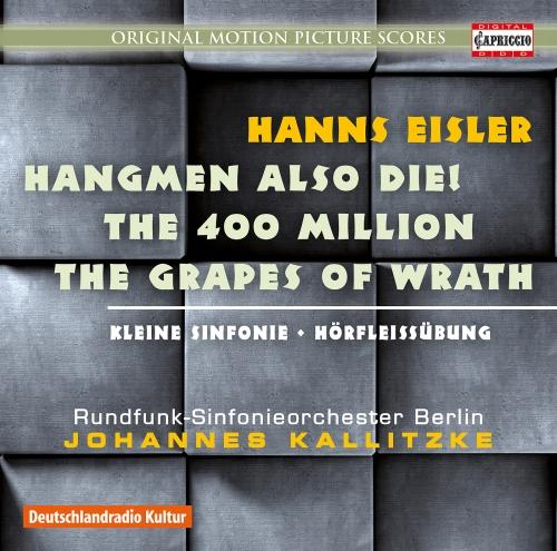 Film Music Hanns Eisler;Radio Symphony Orchestra Berlino;Johannes Kalitzke