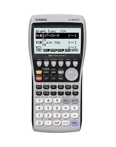 Casio Calcolatrice grafica avanzata Casio FX-9860GII