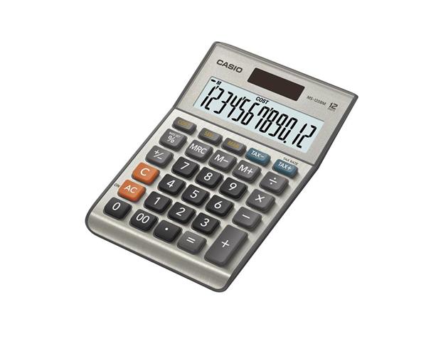 Casio MS-120BM calcolatrice Scrivania Calcolatrice di base Grigio