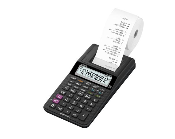 Casio HR-8RCE calcolatrice Scrivania Calcolatrice con stampa Bianco