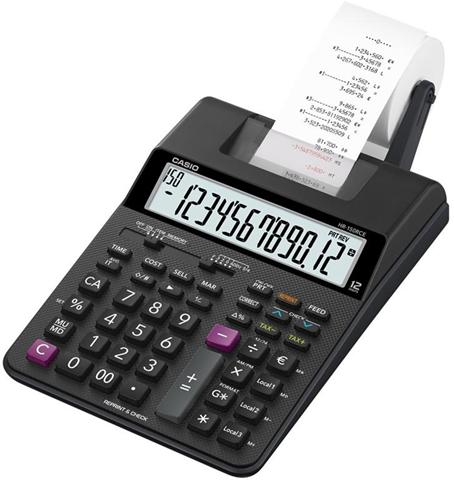Casio HR-150RCE calcolatrice Scrivania Calcolatrice con stampa Nero