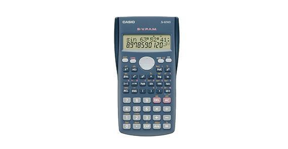 Casio FX-82MS calcolatrice Scrivania Calcolatrice scientifica Blu