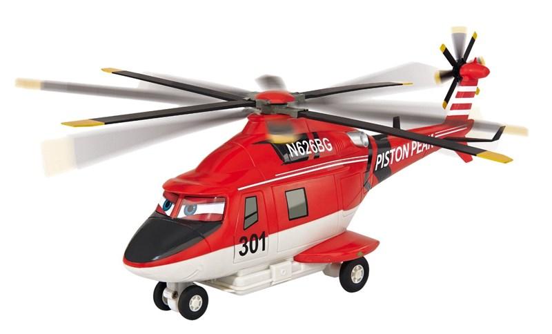 Disney Majorette Disney Planes Fire & Rescue. R/C Blade Elicottero a 2 Canali