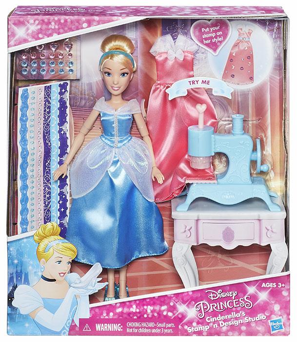 Disney Princ. Cenerentola con accessori